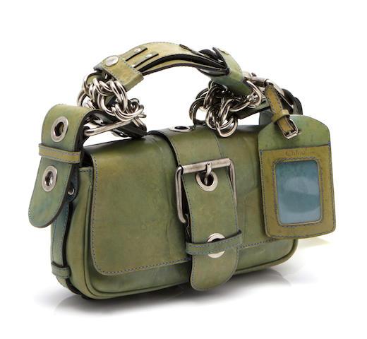 A Chloé leather handbag