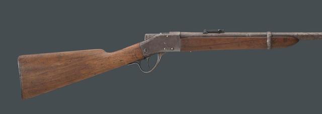 A scarce Model 1878 Sharps-Borchardt saddle ring carbine