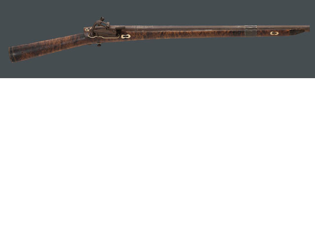 A North Persian miquelet carbine