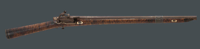 A North Persian miquelet carbine