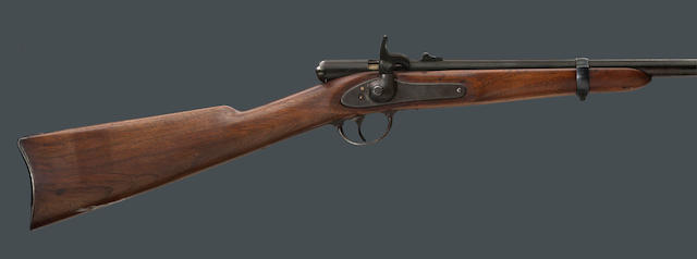 A Palmer's Patent breechloading carbine by E.G. Lamson & Co.