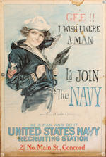 A group of six World War I and World War II posters