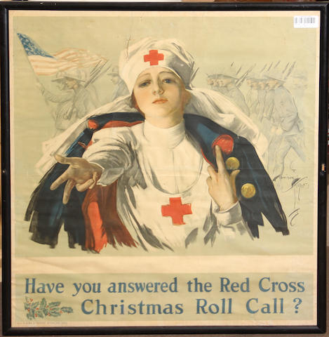 A lot of six military posters: World War I and later