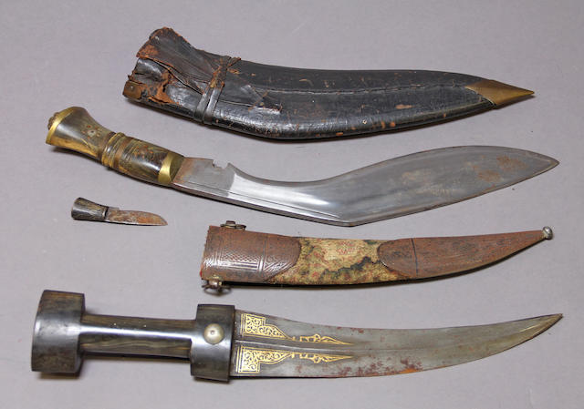 A lot of two eastern daggers