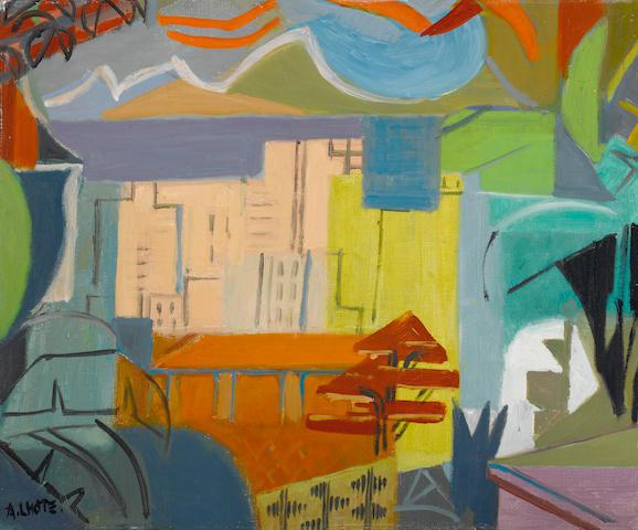 André Lhote (1885-1962) Rio de Janeiro 15 x 18 1/8in. (38 x 46cm)