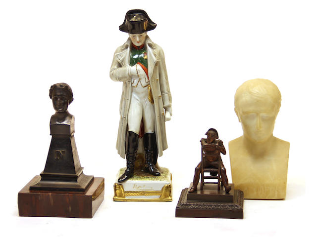 Four Napoleonic souvenirs first quarter 20th century