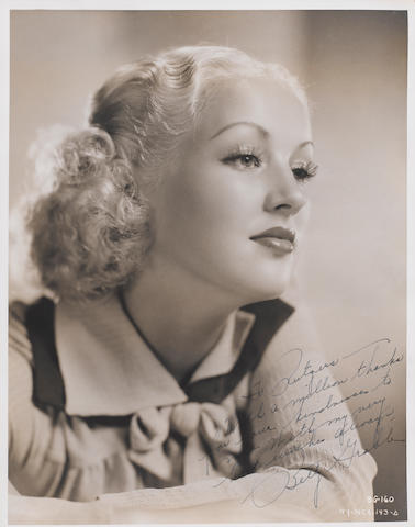 A group of signed photographs of Golden Age actresses