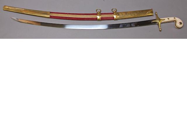 A mameluke-hilted shamshir by Wilkinson
