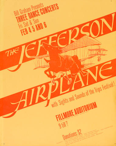 A Jefferson Airplane poster
