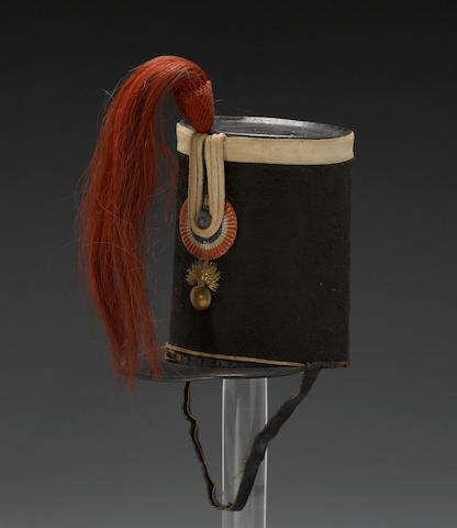 A French other ranks shako for the Garde Nationale