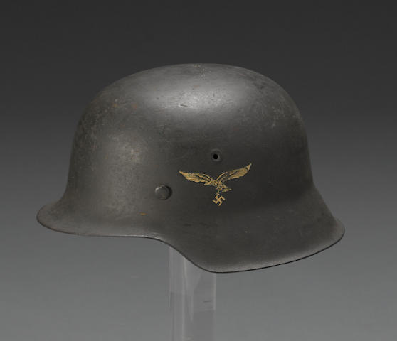 A German M42 Luftwaffe helmet