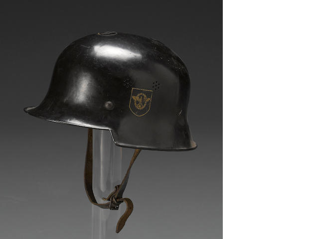 A German M34 Civic/Police helmet