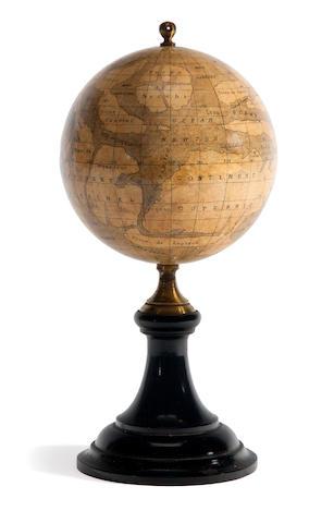 Flammarion, Camille pub. Bertaud, globe