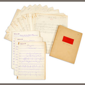 A The Great John L. script and musical score