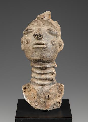 Krinjabo Memorial Head, Ivory Coast