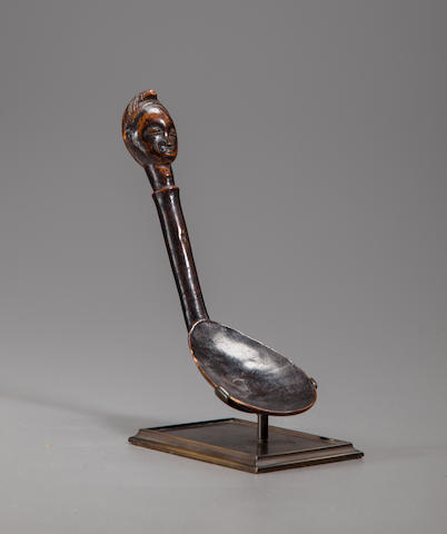 Baule Spoon, Ivory Coast