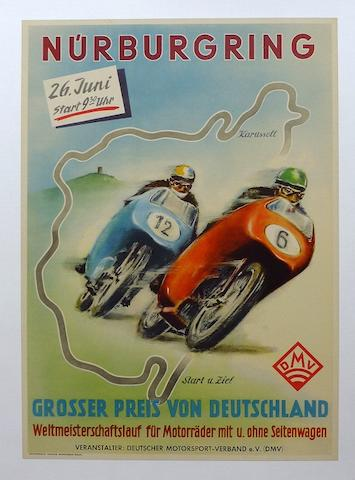 A Nurburgring G P Germany, 1955;