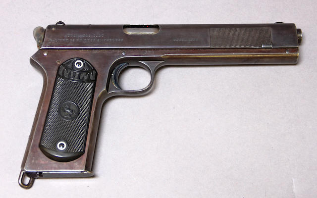 A scarce U.S. Colt Model 1902 Military semi-automatic pistol
