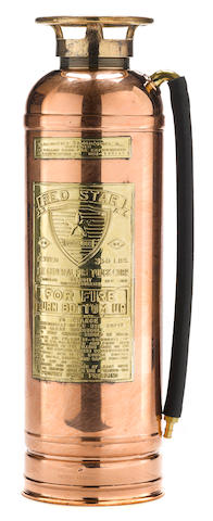 A 'Red Star' fire extinguisher, c.1930s,