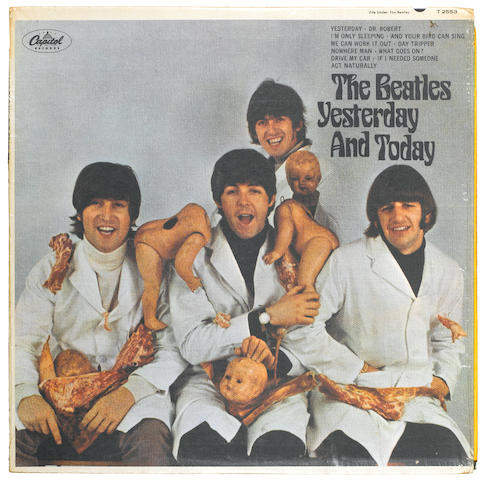 "THE BEATLES YESTERDAY AND TODAY/. CAPITOL RECORDS T 2553 LP, ""THE BUTCHER"" COVER, FIRST STATE."