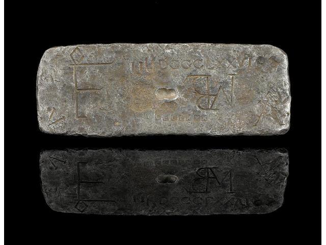 Atocha silver bar