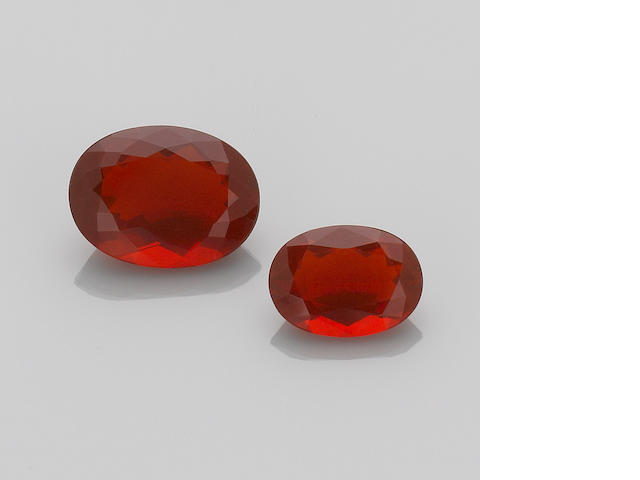 Two Fire Opals