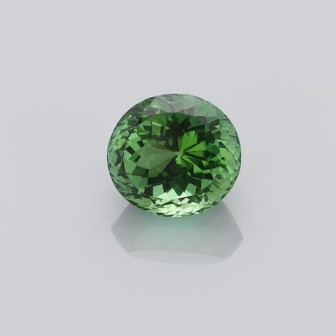 Fine Light Green Tourmaline