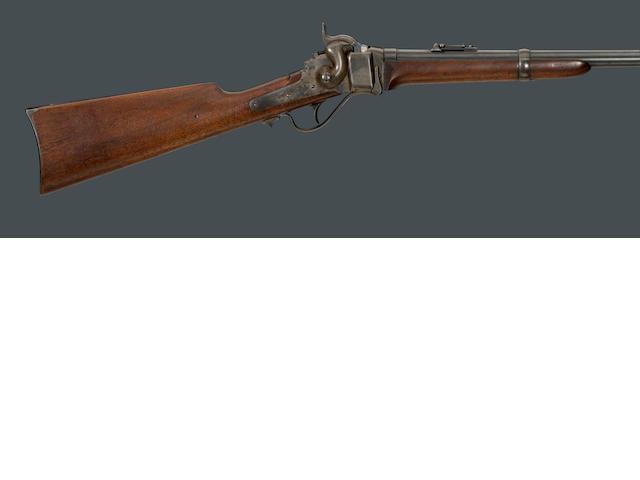 A Sharps Model 1865 Metallic Cartridge Conversion breechloading carbine