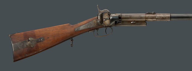 A Greene's Patent British Type breechloading carbine with apparent U.S. surcharge
