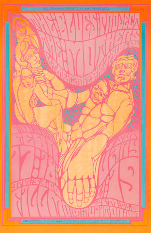 A Bill Graham group of posters, 1966-7