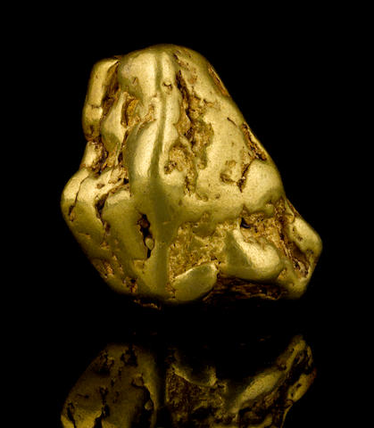 A gold nugget 5.75ozt (179.0g, 115.1 dwt)