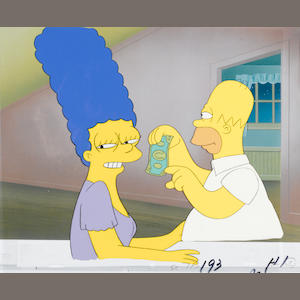 THE SIMPSONS, HOMER AND MARGE(DOLLAR)