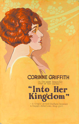 An original promotional painting for Into Her Kingdom