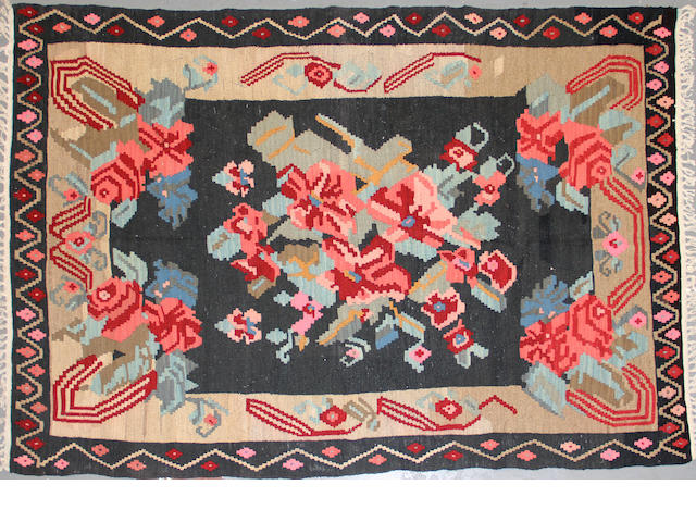 A Bessarabian kilim size approximately 5ft. 4in. x 8ft. 7in.