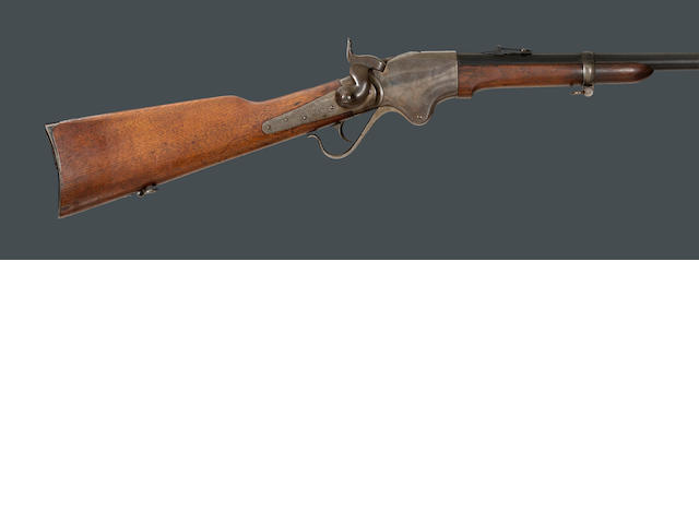 A Spencer Model 1865 breechloading carbine