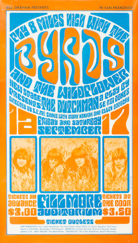 A Bill Graham group of rock posters, 1966-7