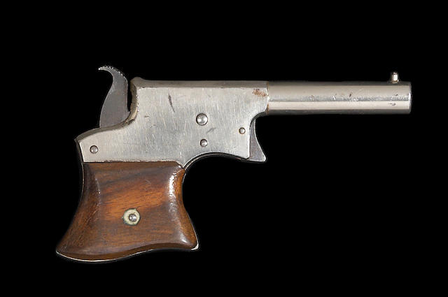 A rare unmarked developmental Remington Vest Pocket derringer