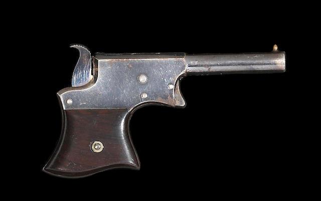 A Remington Vest Pocket derringer