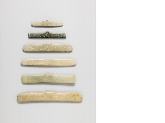 Group of Six Tairona Pendants,<BR />ca. 1000 - 1500