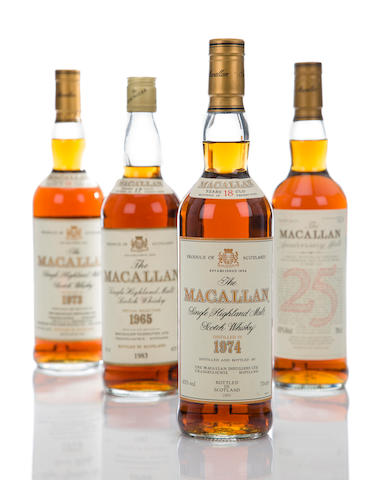 Macallan 1974- 18 year old