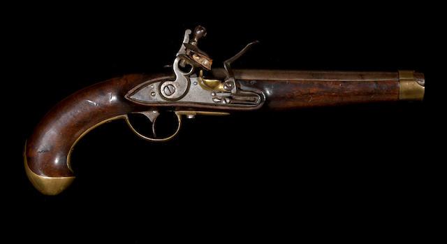 A scarce Imperial Russian Model 1798 flintlock martial pistol