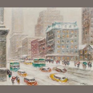 Guy Wiggins, Looking Down Fifth Avenue