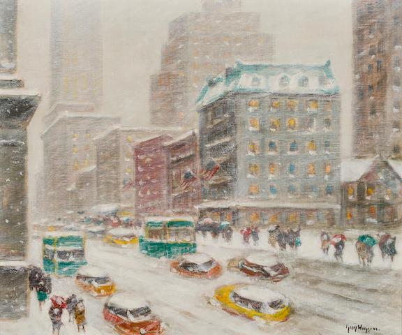 Guy Wiggins, Looking Down Fifth Avenue
