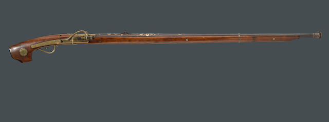 A Japanese matchlock musket