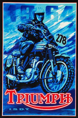 Robert Carter, 'McQueen Triumph'