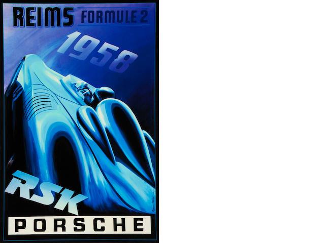 Robert Carter, 'Porsche RSK',