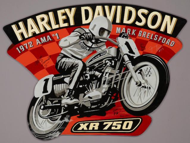 "Robert Carter, 'Harley Davidson XR750"","