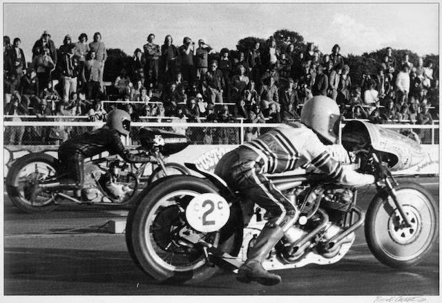 Robert Carter, 'Twin engined Norton',