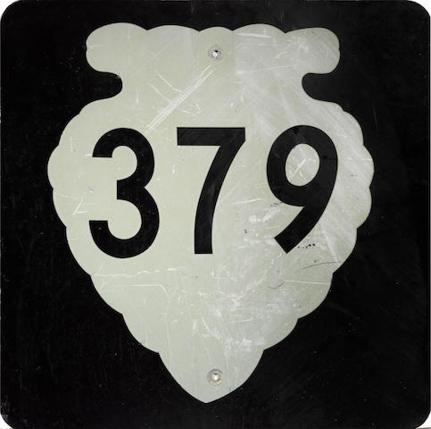 A Montana Route 379 sign,