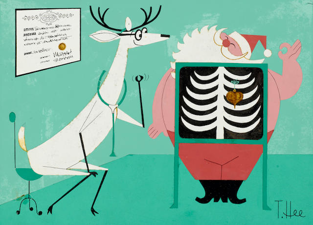 3 CHRISTMAS CARD DESIGNS WITH A DOCTOR'S THEME